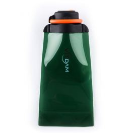Láhev Vitdam skládací - 700 ml, zelená