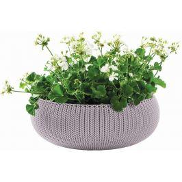 KETER Květináč COZY L - fialová