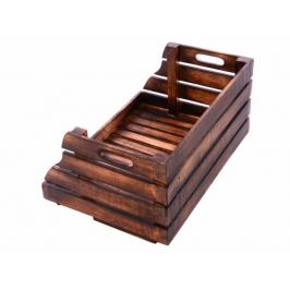 DIVERO Vintage 60225 Stohovatelná dřevěná bedýnka