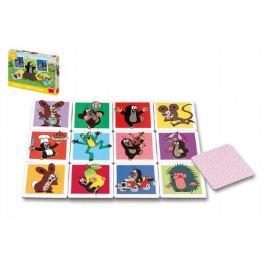Krtek Velké krtečkovo pexeso společenská hra v krabici 27x19x2+