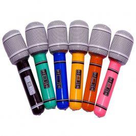 Nafukovací MEGA mikrofon v Rock'n Roll stylu