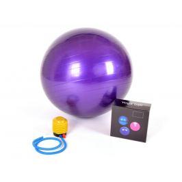 Gymnastický míč GYM BALL - 75 cm FIALOVÝ