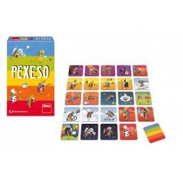 Pexeso ČT Déčko 48 kartiček společenská hra v krabičce 12x18x4cm