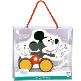 Dřevěný tahací Mickey Mouse