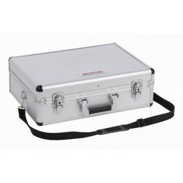 Kreator kufr na nářadí uzamykatelný, stříbrný