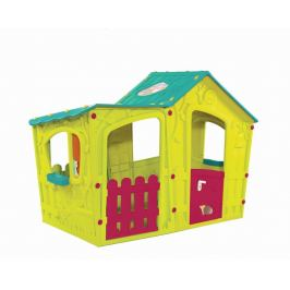Keter zahradní dětský domek Magic Villa House - zeleno/modrý