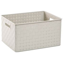 Curver Úložný box Nuance L bílý 17197398B