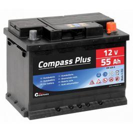 Compass Autobaterie Plus - 12V, 55Ah, 420A
