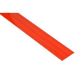 Samolepící páska reflexní - 1 m x 5 cm, červená