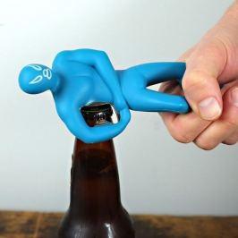Designový otvírák - wrestling - modrá