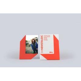 Stojánek na fotku s magnetem - 10 x 15, červená