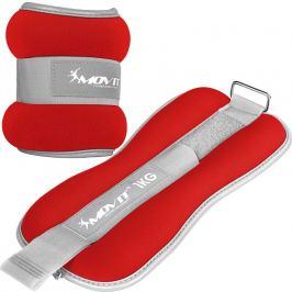 MOVIT 66384 Neoprenové zátěžové reflexní manžety - 2 x 1 kg