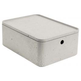 CURVER BETON Úložný box s víkem - M