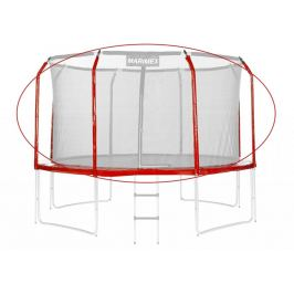 Marimex Sada krytu pružin a rukávů na trampolínu - červená