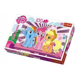 My Little Pony Puzzle 100 dílků 41x27,5cm v krabici 29x20x4cm