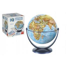 IQ kvízová hra s glóbusem společenská vědomostní hra v krabici 18x21x18cm