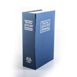 G21 60011 Trezor kniha 180 x 115 x 55 mm modrá