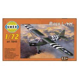 Směr plastikový model letadla ke slepení Piper L 4H 1:72