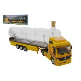Monti Souvenir Truck Stavebnice 32cm sběratelský model + skleněná lahev
