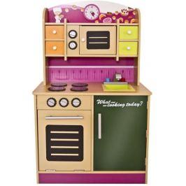 Infantastic 74217 Dětská kuchyňka, dřevěná, 61 x 100 x 33 cm