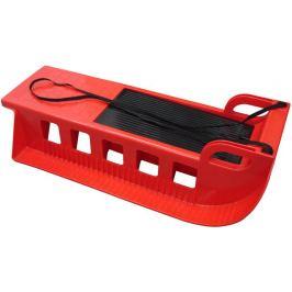 CorbySport Kamzík 28318 - plastové sáně - červené