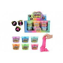 Písek tvořivý hedvábný 300g 6 barev v plastové dóze 12ks v boxu