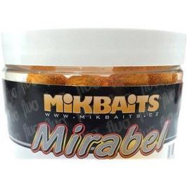 Mikbaits - Mirabel Fluo Boilie Půlnoční pomeranč 12mm 150ml