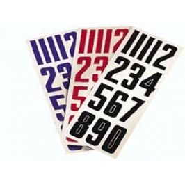 Čísla na helmu Nike Bauer Doplňky hokejové výstroje