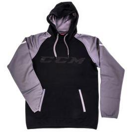 Mikina CCM Pullover GoDark Black/Dark Grey SR