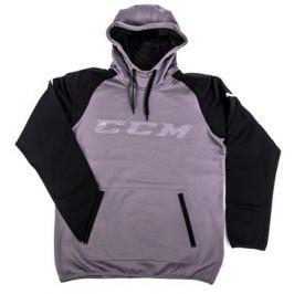 Mikina CCM Pullover GoDark Dark Grey/Black SR Doplňky hokejové výstroje