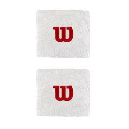 Potítka Wilson Wristband 2.5´´ White (2 ks) Doplňky pro hráče