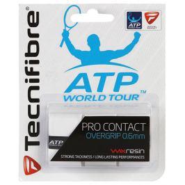 Vrchní omotávka Tecnifibre ATP Pro Contact White Squashové gripy