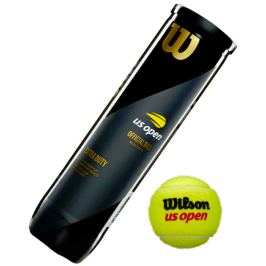 Tenisové míče Wilson US Open (4ks) Tenisové míče
