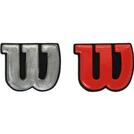 Vibrastop Wilson Pro Feel 2 ks Red/Silver Vibrastopy na tenis