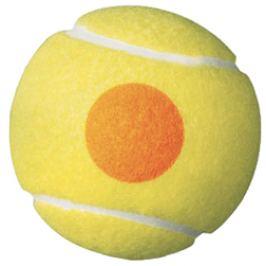 Dětské tenisové míče Wilson Starter Orange 3 ks
