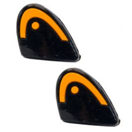 Vibrastop HEAD Xtra Damp Black/Orange (2ks)