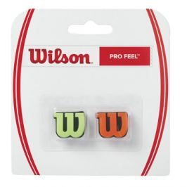 Vibrastop Wilson Pro Feel Green/Orange 2 ks