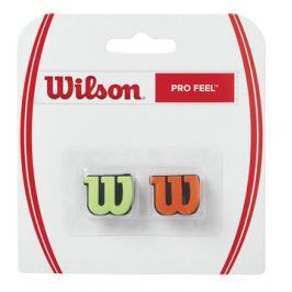 Vibrastop Wilson Pro Feel Green/Orange 2 ks Vibrastopy na tenis