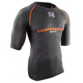 Kompresní tričko Compressport Short Sleeve Top Black