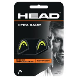 Vibrastop HEAD Xtra Damp Black/Yellow (2ks)