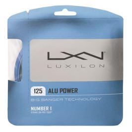 Tenisový výplet Luxilon Alu Power Blue 1.25 mm Tenisové výplety