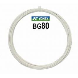Badmintonový výplet Yonex Micron BG80 White (0.68 mm)