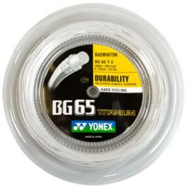 Badmintonový výplet Yonex Micron BG65Ti (0.70 mm) - délka 200 m