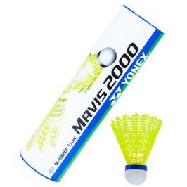 Badmintonové míče Yonex Mavis 2000 Yellow (dóza po 6 ks)