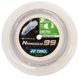 Badmintonový výplet Yonex NBG 99 Nanogy (0.69 mm) - role 200 m