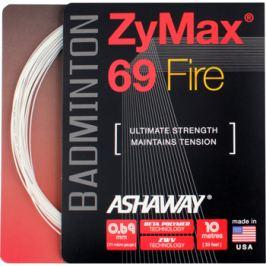 Badmintonový výplet Ashaway ZyMax 69 Fire white Badmintonové výplety