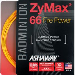 Badmintonový výplet Ashaway ZyMax 66 Fire Orange