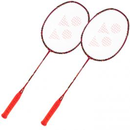 Set 2 ks badmintonových raket Yonex Voltric 80 E-tune