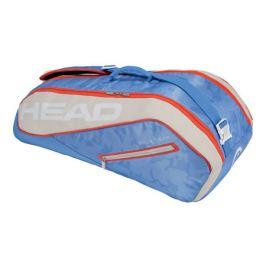 Taška na rakety Head Tour Team Combi 6R Light Blue Tenisové tašky