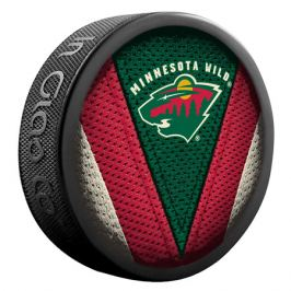Puk Sher-Wood Stitch NHL Minnesota Wild